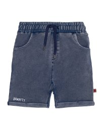Vintage Blue Relaxed Shorts