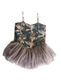Vintage Ballerina Dress - Poney Fields
