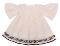 Anouk Dress - Rosewater Embroidery