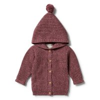 Wild Ginger Knitted Jacket